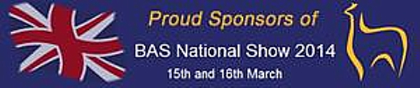 Proud sponsors of the BAS national show